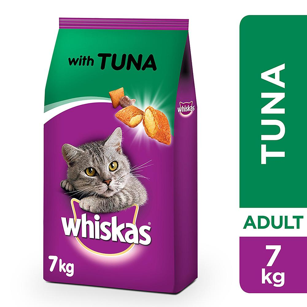 Whiskas Tuna Dry Food Adult 1+ years (7 kg)
