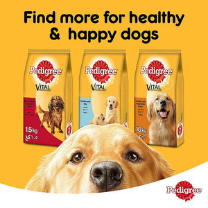 PEDIGREE® Beef & Vegetables Dry Dog Food Adult (10 kg)