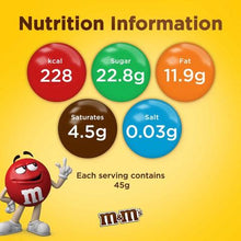 M&M's Milk Chocolate Covered Peanut In A Thin Crisp Shell (2 x 180 gm)