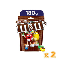 M&M's Milk Chocolate In Sugar Shell Large (2 x 180 gm)