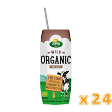 Arla Organic Chocolate Milk (24 x 200ML) - Sanadeeg