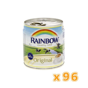Rainbow Evaporated Milk Fortified Original (96 x 170 gm) - Sanadeeg