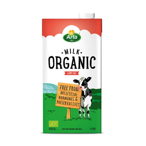 Arla Organic Low Fat Milk (10 x 1L)