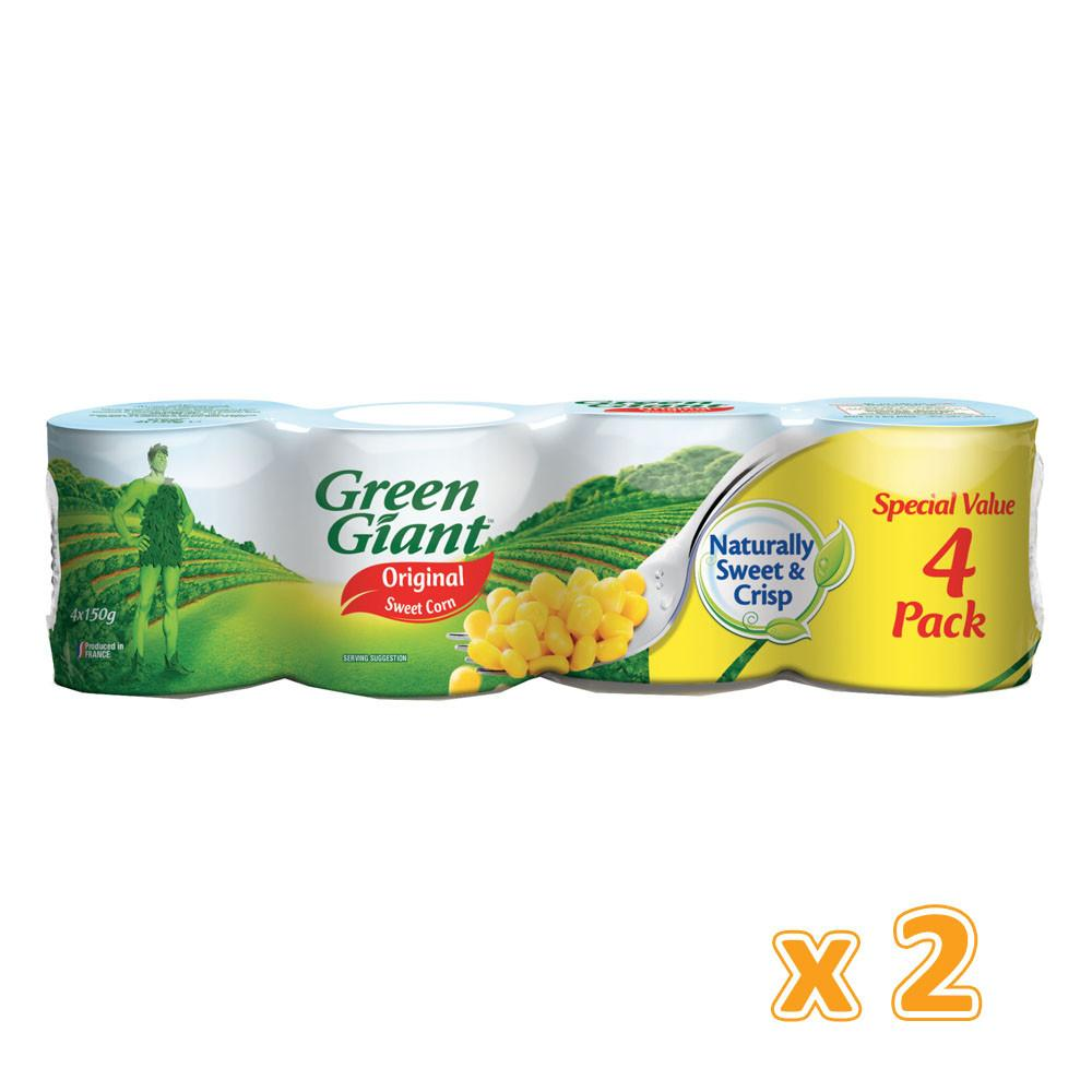 Green Giant Original Sweet Corn (2 X 4 X 150 gm) - Sanadeeg