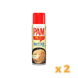 Pam Butter Spray (2 x 141 gm) - Sanadeeg