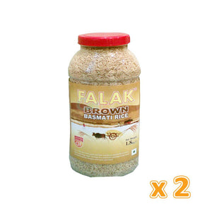 Falak Brown Rice  (2 x 1.5 kg) - Sanadeeg