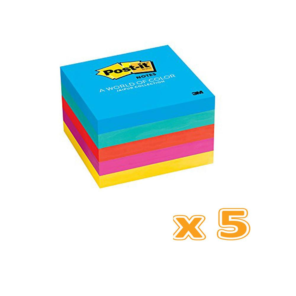 3M Post-It Notes 3 x 3 Ultra Color ( 5 X 5 Pcs) - Sanadeeg