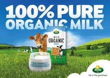 Arla Organic Full Fat Milk (24 x 200ML) - Sanadeeg