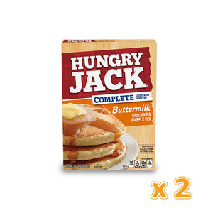 Hungry Jack Buttermilk Pancake & Waffle Mix Just Add Water (2 x 907 gm) - Sanadeeg