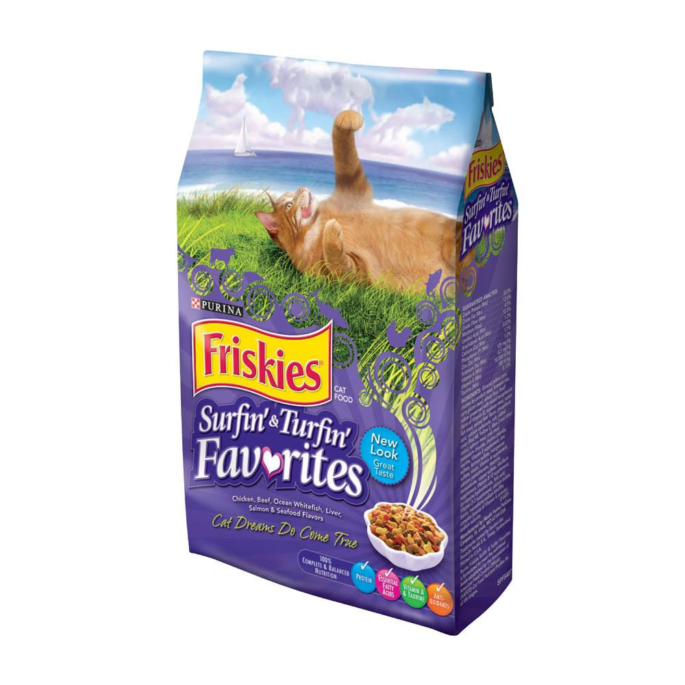 PURINA FRISKIES Surfin' & Turfin' Favourites Cat Dry Food (1.43 KG) - Sanadeeg