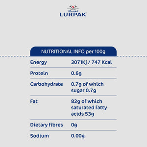 Lurpak Unsalted Butter Blocks Value Pack ( 2 x 500 gm) - Sanadeeg