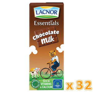 Lacnor Chocolate Flavoured Milk ( 32 x 180 ML)