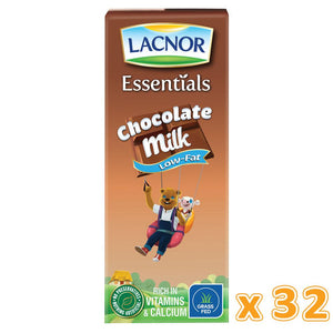 Lacnor Low Fat Chocolate Flavoured Milk ( 32 x 180 ML)
