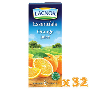 Lacnor Essentials Orange Juice ( 32 x 180 ML)
