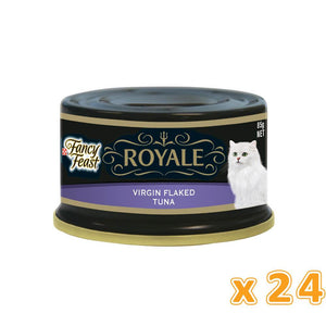 PURINA FANCY FEAST Royale Virgin Flaked Tuna (24 x 85 gm) - Sanadeeg