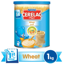 Nestlé® CERELAC® From 6 Months, Wheat with Milk Infant Cereal 1kg Tin - Sanadeeg