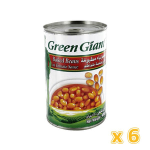 Green Giant Baked Beans in Tomatoes  (6 X 420 gm) - Sanadeeg