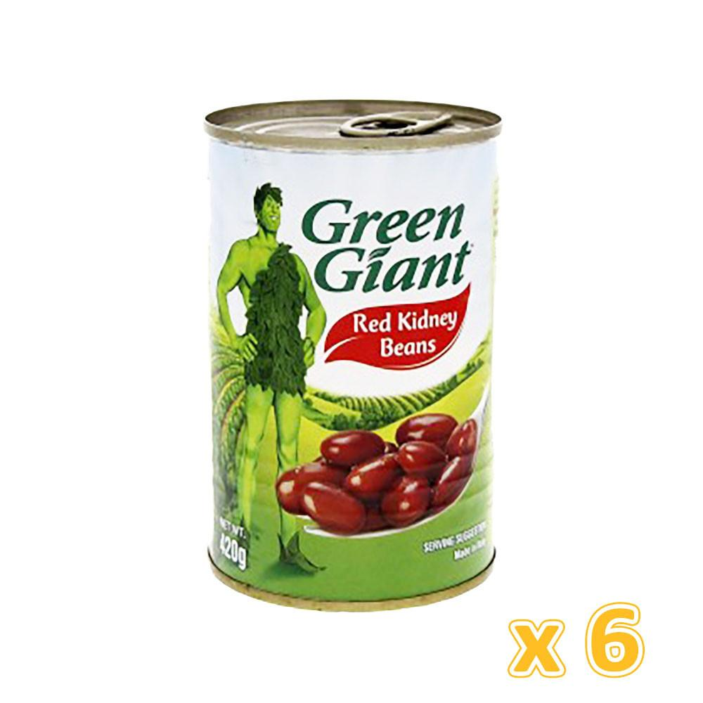 Green Giant Red Kidney Beans  (6 X 420 gm) - Sanadeeg