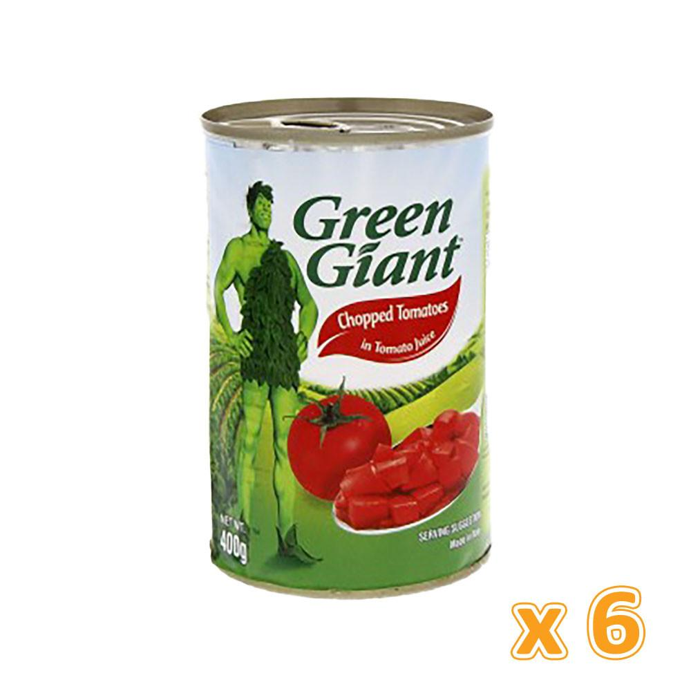 Green Giant Chopped Tomatoes In Tomato Juice  (6 x 400 gm) - Sanadeeg