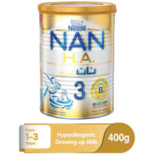 Nestlé® NAN® HA Stage 3 (1-3 Years Old) Hypoallergenic Growing Up Milk For Toddlers Powder Tin 400g - Sanadeeg