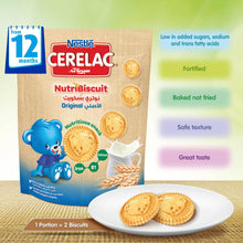 Nestlé® CERELAC® Nutribiscuit™ from 12 Months, Original Bag 180g - Sanadeeg