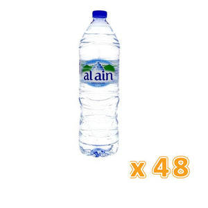 Al Ain Bottled Drinking Water (48 x 1.5 L) - Sanadeeg