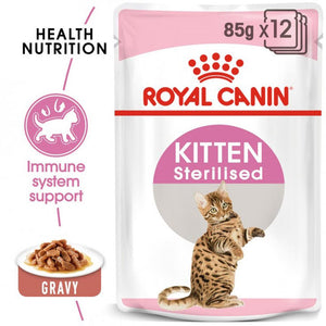 ROYAL CANIN KITTEN STERILIZED 12*85 GM