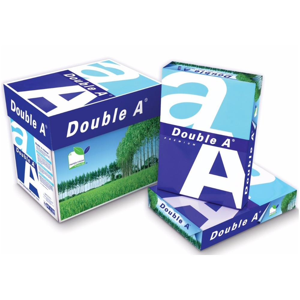 Double A Photocopy Paper  A3  80 Gm White (5 Ream/Box) - Sanadeeg
