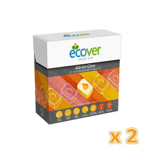 Ecover Dishwasher Tablets (2 x 500 Gm) - Sanadeeg