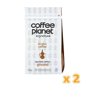 Coffee Planet Traditional Coffee Arabic Pure (2 x 250 gm)