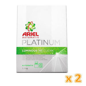 Ariel Green Automatic Platinum Luminous HD Clean (2 x 2.5 kg) - Sanadeeg