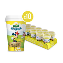 Arla Little Explorers Banana Low Fat Organic Milkshake (10 x 180 ml) - Sanadeeg