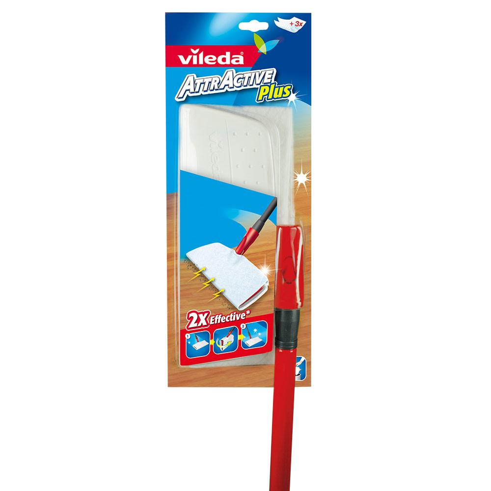Vileda AttrActive Plus Dust System (1 Pcs) - Sanadeeg