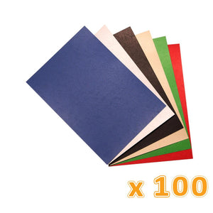 Binding A4 Back Cover 230 Gsm Colors (1 X 100 Pcs) - Sanadeeg