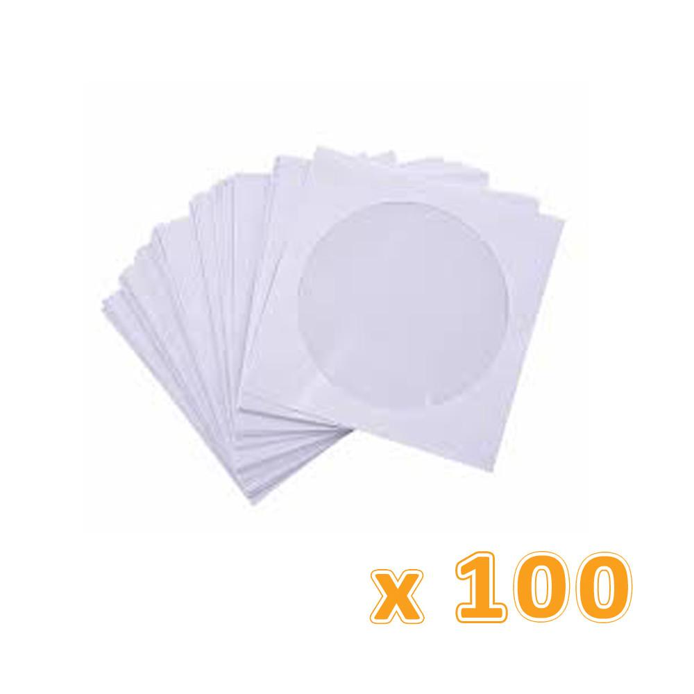 CD Paper Pockets Envelopes (12 X 100 Pack) - Sanadeeg