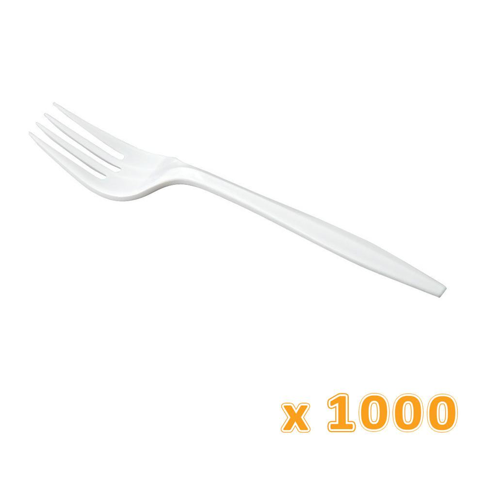 Falcon Clear Super Fork (1000 Pcs) - Sanadeeg
