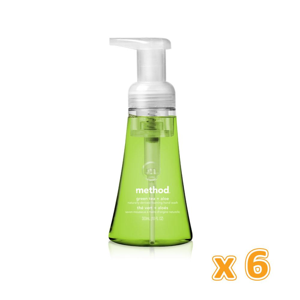 Method Foaming Handwash Green Tea (6 x 300 ML) - Sanadeeg