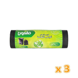 Falcon 60 Galon Large Garbage Bag  90cm X 110cm  (3 X 20 pack) - Sanadeeg