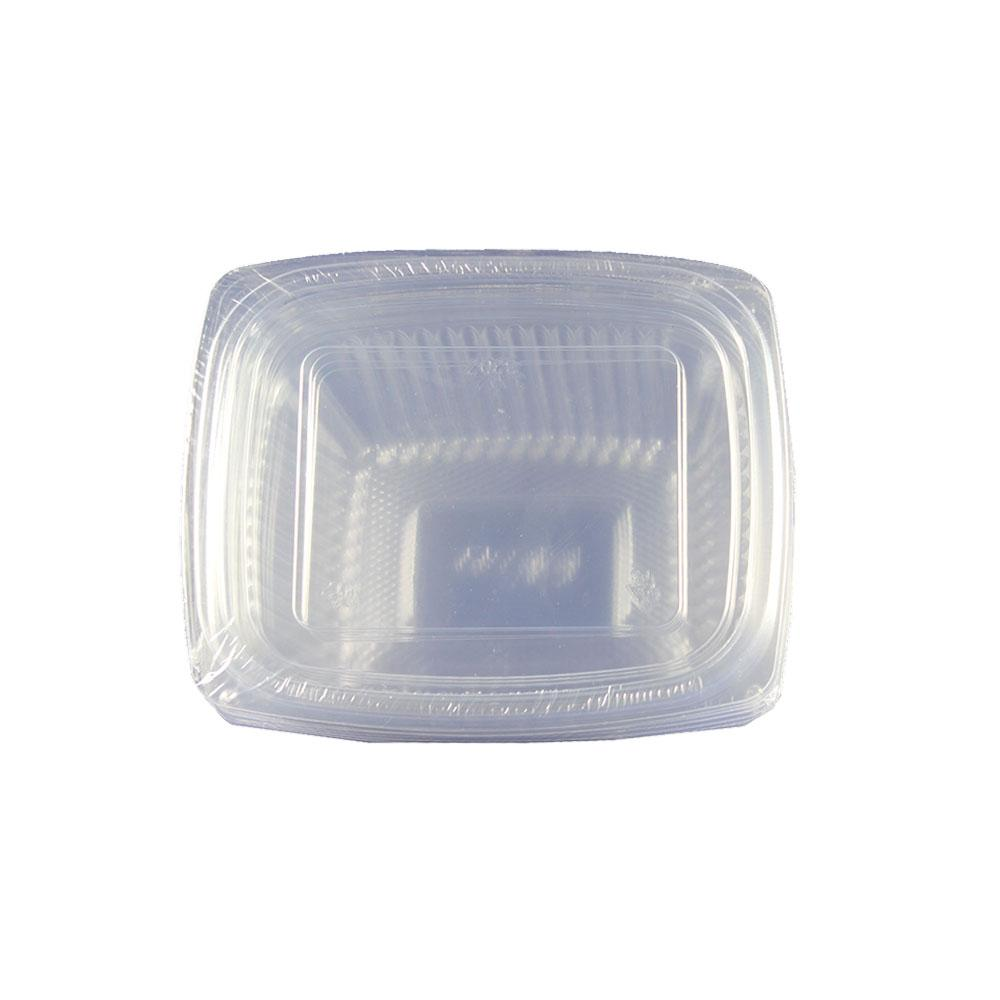 Falcon Clear Plastic Container with lid 16Oz (5 Pcs) - Sanadeeg