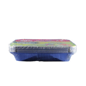 Falcon Aluminium Container 3200 cc with Lid 33.1 x 25.8 cms (10 Pcs)