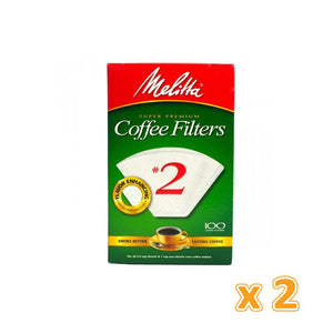 Melitta Coffee Filters No 2 (2 x 40 Flilters) - Sanadeeg