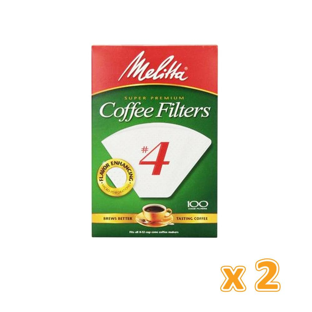 Melitta Coffee Filters No 4 (2 X 40 Flilters) - Sanadeeg