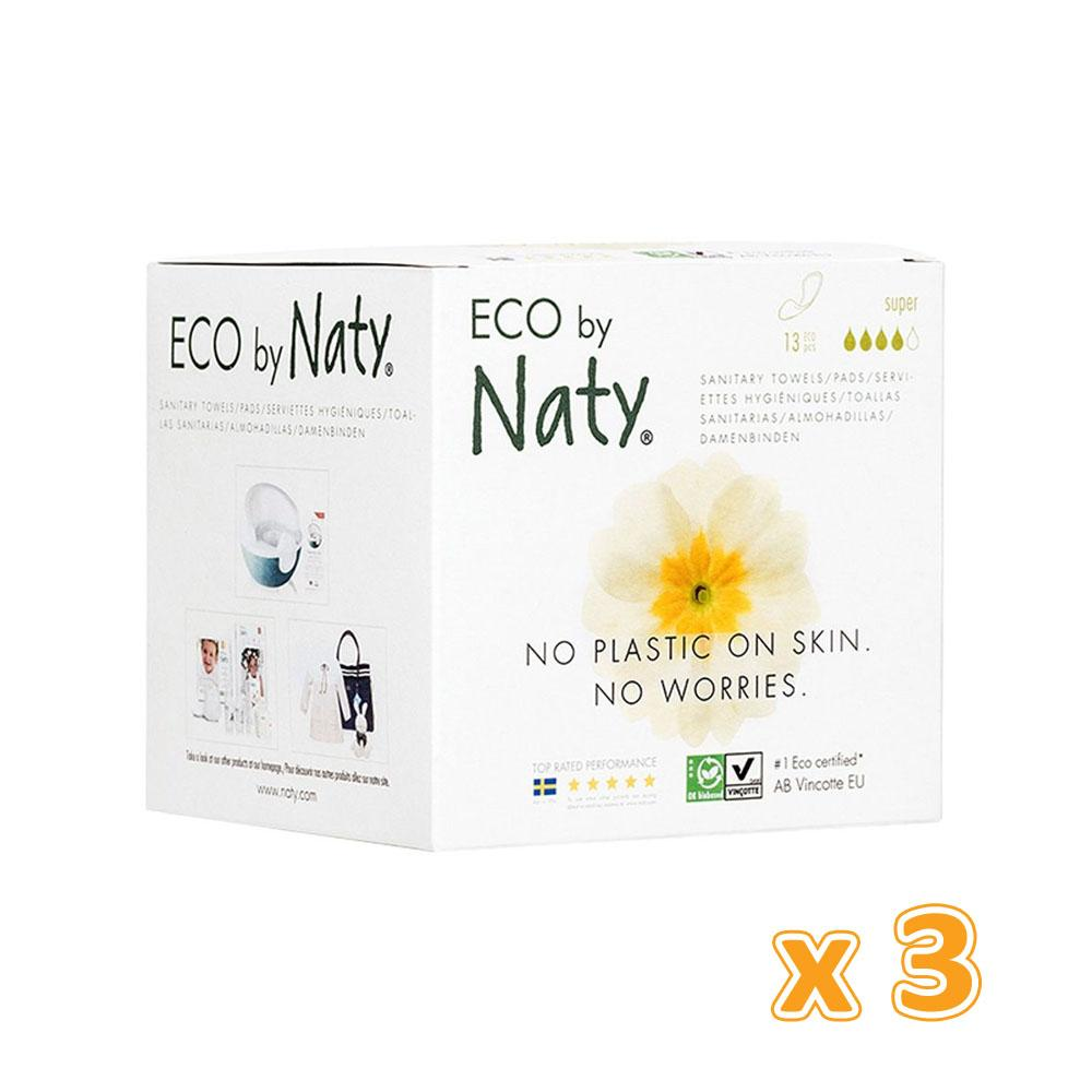 Naty Thin Pads Super (3 x 13 Pcs) - Sanadeeg