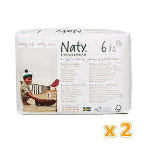Naty Pull on Pants XL Size 6 (2 x 18 Pants) - Sanadeeg