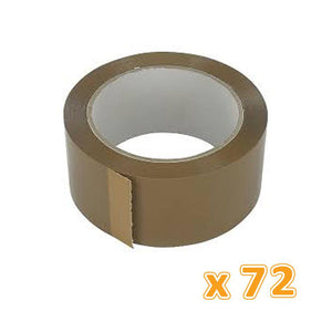 Packing Brown Tape 48Mm Pvc ( 1 X 72 Pcs ) - Sanadeeg