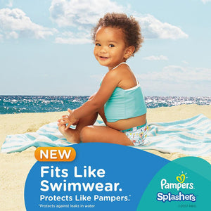 Pampers Splashers Swimming Pants, Size 4-5, 9-15 kg, Carry Pack (11 Count)