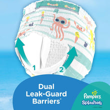Pampers Splashers Swimming Pants, Size 3-4, 6-12 kg, Carry Pack (12 Count)