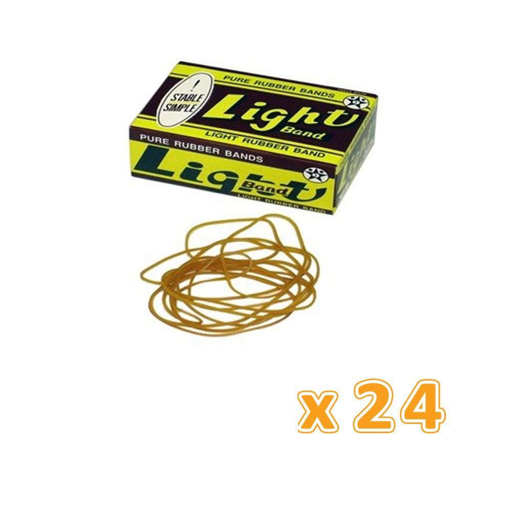 Light Rubber Bands 50G (24 X 50G) - Sanadeeg