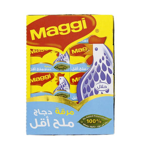 Maggi Chicken Stock Bouillon Cube - Less Salt (24 X 20 gm) - Sanadeeg
