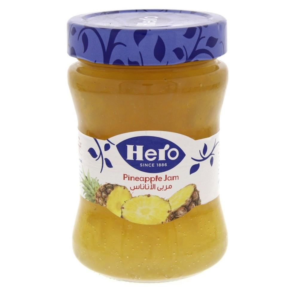 Hero Pineapple Jam (340 gm) - Sanadeeg